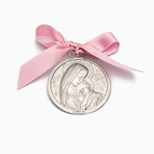 Medalla de cuna con la Virgen y el Niño Jesús - 1